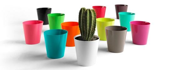 Euro3plast il fascino discreto del design in giardino - Vasi di design per interni ...