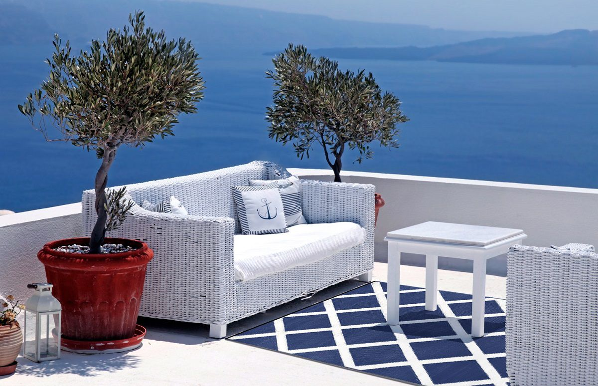 Arredamento in stile marino come portare la costa in for Arredamento outdoor design