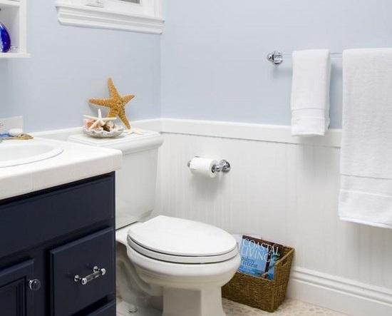 Arredare la stanza da bagno in stile marinaro
