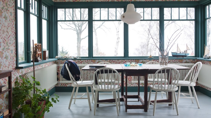 Arredamento nordico e idee per la sala da pranzo for Sala da pranzo foto