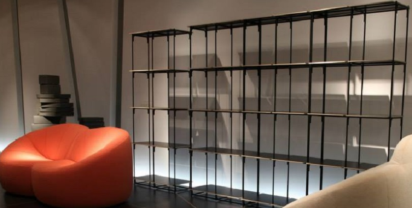 ligne roset presenta la libreria la biblioth que fil. Black Bedroom Furniture Sets. Home Design Ideas