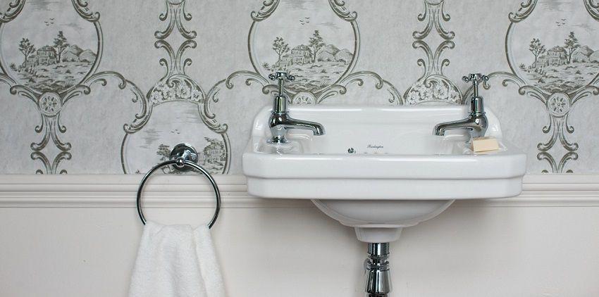 Bagno stile inglese: la collezione da bagno Edwardian