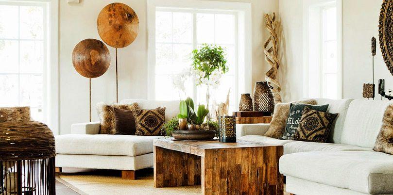 quattro consigli per arredare la casa in stile naturale