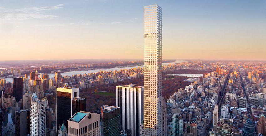 432 park avenue lussuosi appartamenti sui tetti di new york for Appartamenti lusso new york