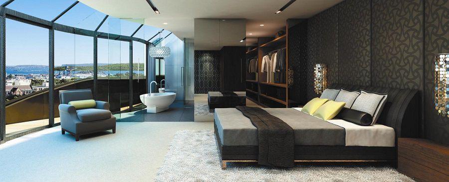 Come trasformare la camera da letto in una suite di lusso - Disegni di camere da letto ...