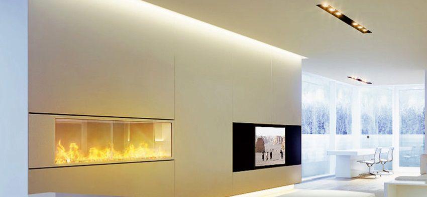 Illuminare con le strisce a led una casa in stile moderno - Barre a led per interni ...