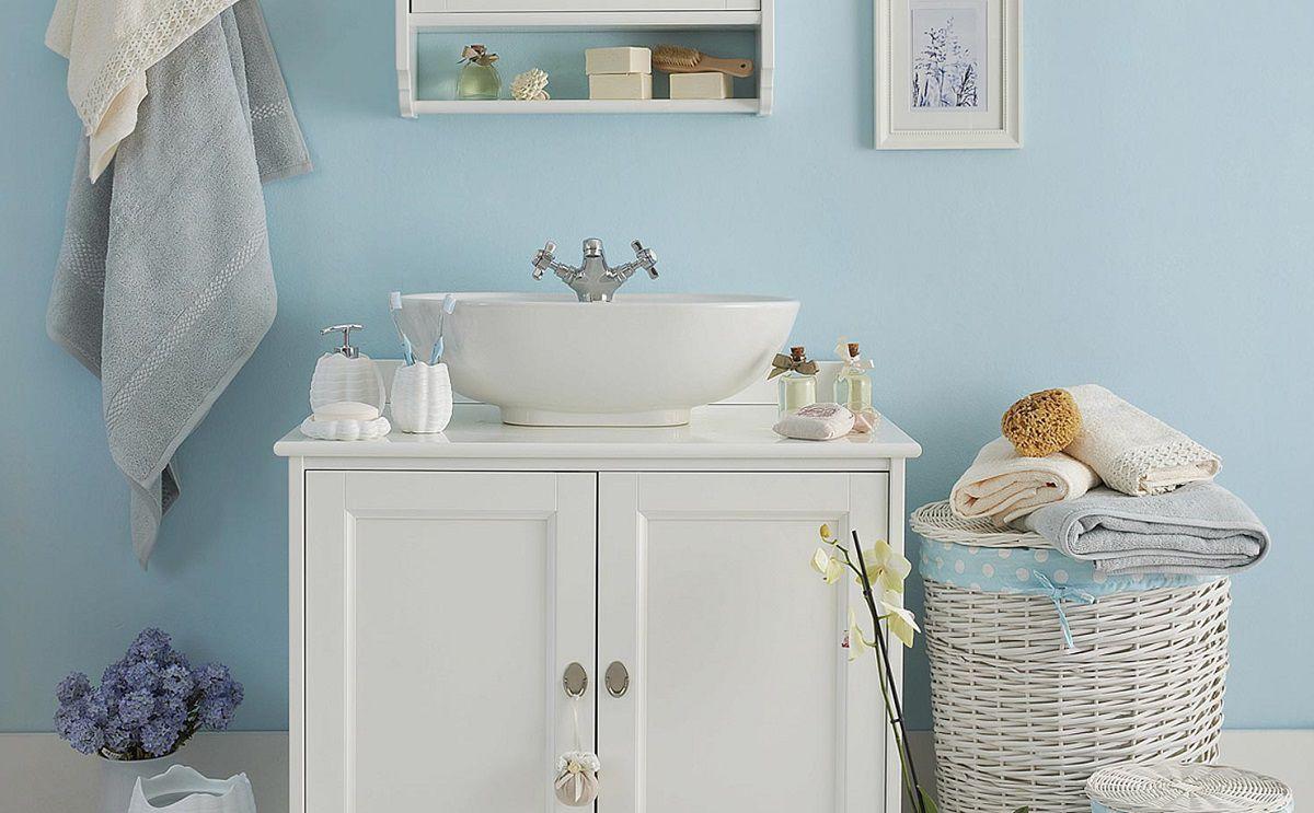 Profumo di lavanda e colori pastello arredare il bagno in - Bagno stile provenzale ...